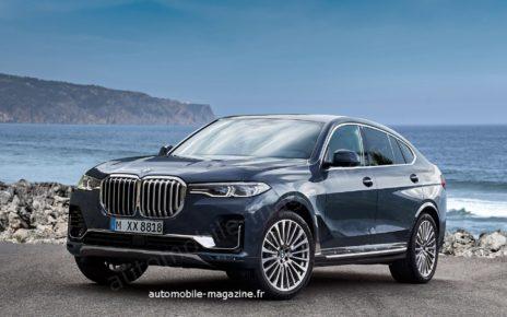 BMW dépose l'appellation X8 M