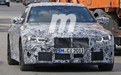 Nouvelles photos de la future BMW M4 attendue pour 2021