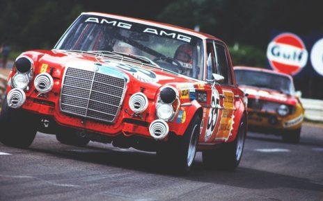 Retour sur l'histoire de la Mercedes 300 SEL 6.8 AMG de 1971 : Limousine de course