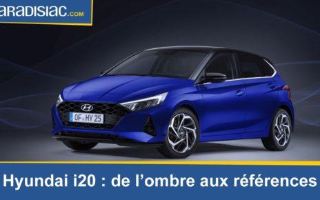 Présentation - Hyundai i20 (2020) : de quoi faire de l'ombre aux références