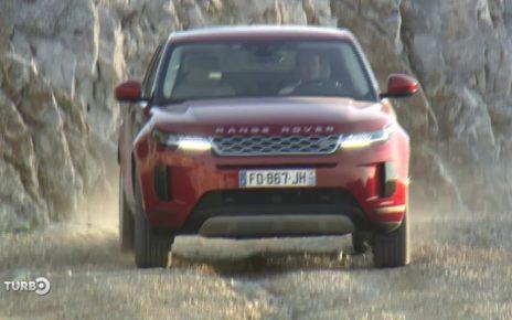 Essai du Range Rover Evoque - Extrait TURBO du 17/03/2019