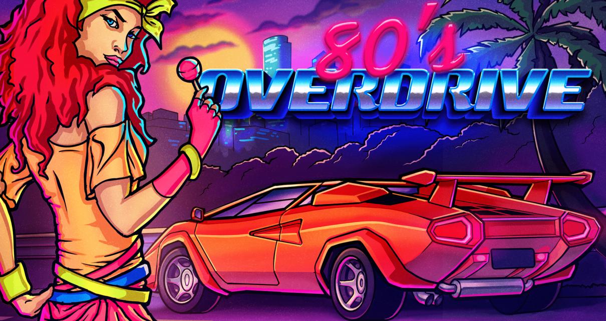 Test 80's Overdrive arrive et dérape sur Nintendo Switch !