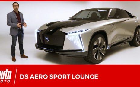 DS Aero Sport Lounge : un concept capable de rivaliser avec le Tesla Model X ?