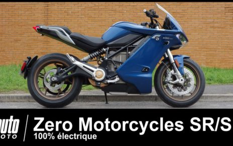 Moto électrique ZERO SR/S 1er ESSAI français POV Auto-Moto.com