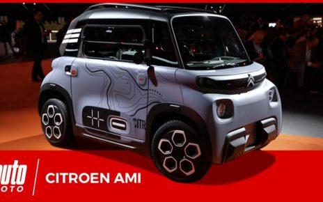 Citroën Ami : la voiture électrique, sans permis, qui vous veut du bien en milieu urbain.