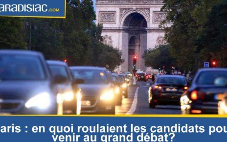 Municipales parisiennes : en quoi roulaient les candidats pour venir au grand débat mardi ?
