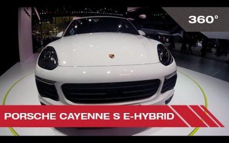 360° Porsche Cayenne S e-Hybrid - Mondial Auto de Paris 2014