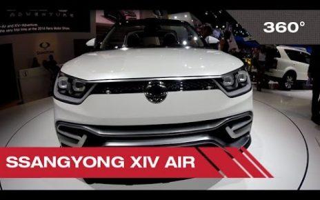 360° SsangYong XIV air - Mondial Auto de Paris 2014