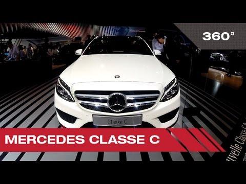 360° Mercedes Classe C - Mondial Auto de Paris 2014