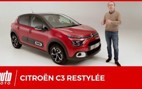 Nouvelle Citroën C3 restylée : minimum syndical