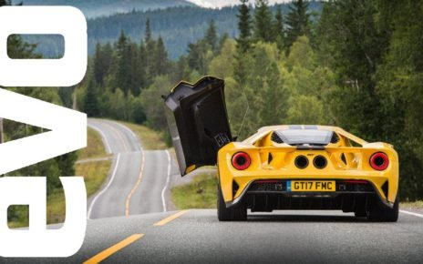 New Ford GT review - attacking the Arctic Circle Raceway in Ford's Supercar   evo REVIEW