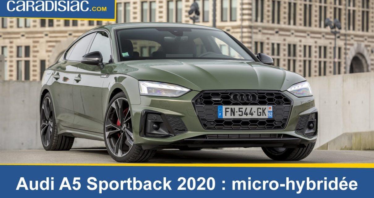 Essai - Audi A5 Sportback 2020
