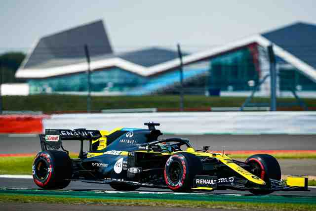 Grand Prix du 70e anniversaire: Daniel Ricciardo reprend les devants - F1 - GP du 70e anniversaire