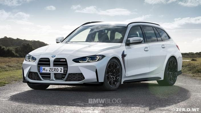 La BMW M3 break Touring confirmée