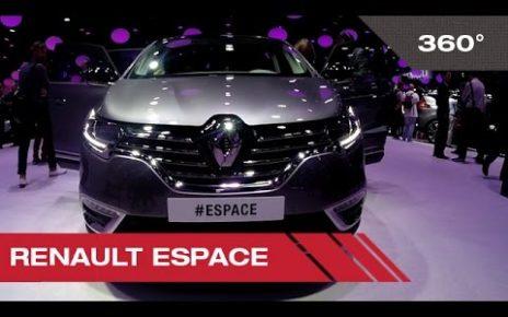 360° Renault Espace - Mondial Auto de Paris 2014