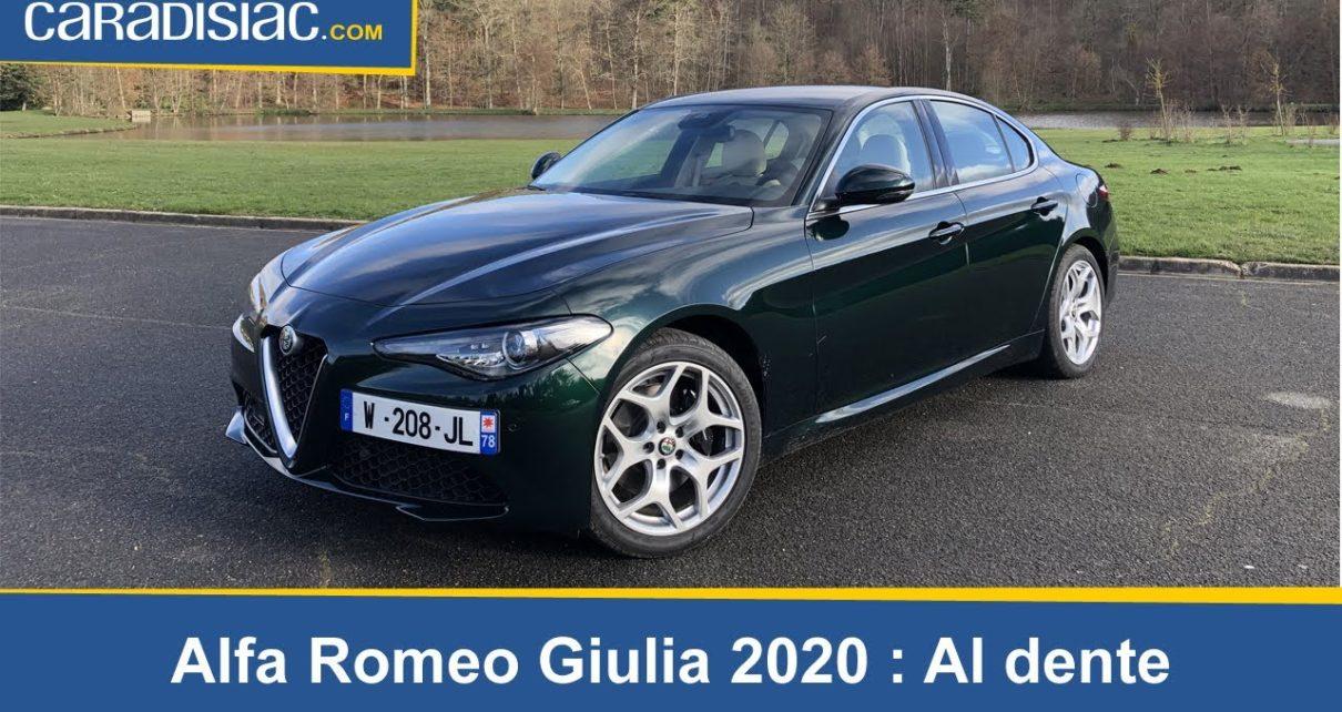 Essai - Alfa Romeo Giulia MY20 : le diesel en sauveur