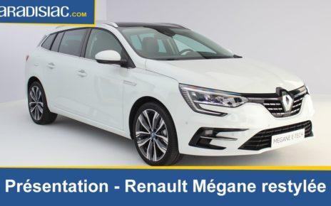 Renault Mégane restylée : nouveautés à tous les étages