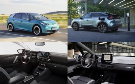 Comparatif de la Citroën ë C4 électrique face à la Volkswagen ID.3
