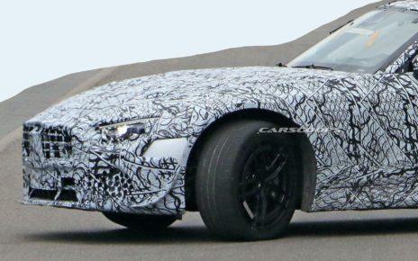 De nouvelles photos de la prochaine génération de Mercedes SL 2021