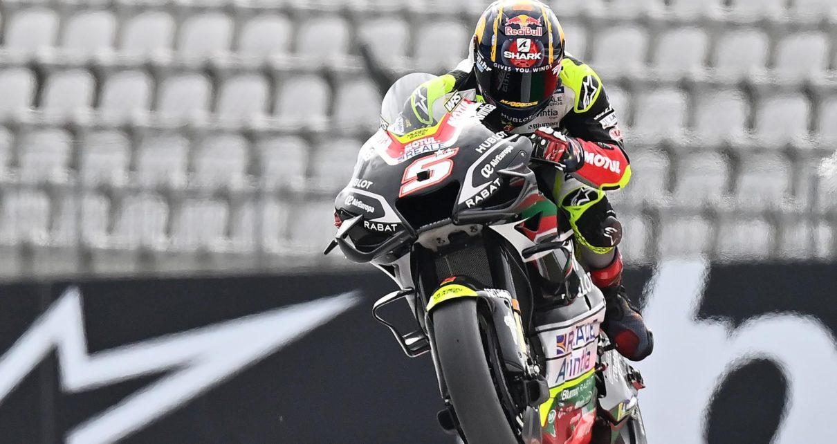 MotoGP - Touché mais pas coulé : Johann Zarco (Ducati Avintia) et l'art du rebond