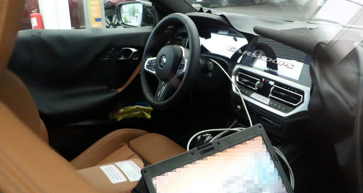 Premières photos de l'intérieur de la BMW Série 2 coupé et version sportive