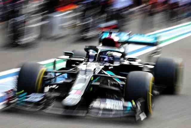 ES2 : Lewis Hamilton (Mercedes) devant Valtteri Bottas au GP d'Italie - F1 - GP d'Italie