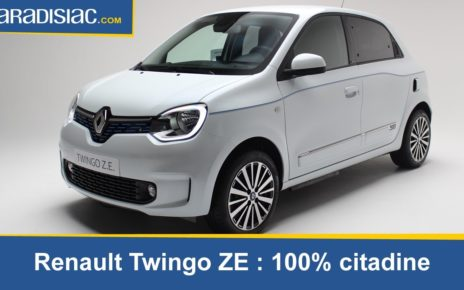 Présentation: Renault Twingo ZE : 100% citadine