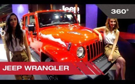 360° Jeep Wrangler - Mondial Auto de Paris 2014