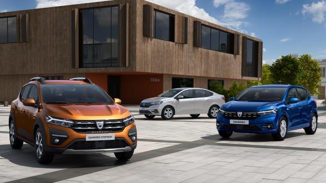 Voilà les nouvelles Dacia Sandero, Sandero Stepway et Logan