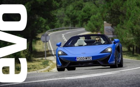 McLaren 570S Spider review   evo REVIEW