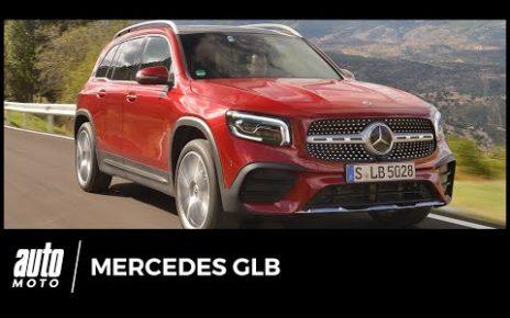 Essai Mercedes GLB 220d 4Matic : expédition familiale