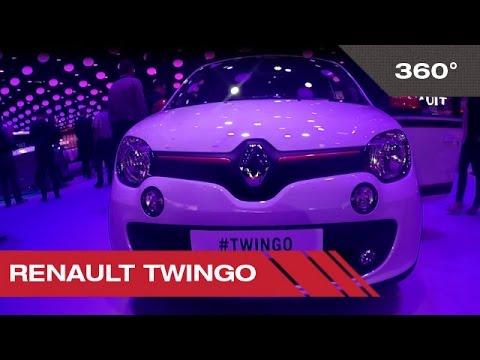 360° Renault Twingo - Mondial Auto de Paris 2014