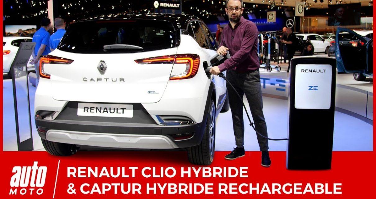 Renault Clio hybride et Captur hybride rechargeable : découverte au salon de Bruxelles