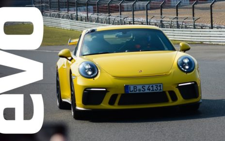 Porsche 911 GT3 sets a new best time at the Nürburgring Nordschleife