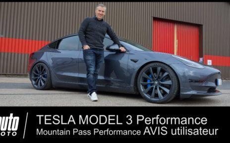 Tesla Model 3 Performance 500 ch préparée Mountain Pass Performance AVIS utilisateur