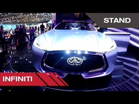 Stand Infiniti - Mondial Auto de Paris 2014