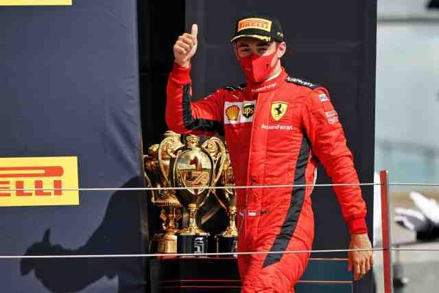 Charles Leclerc (Ferrari) s'offre un fast-food dans son jet privé