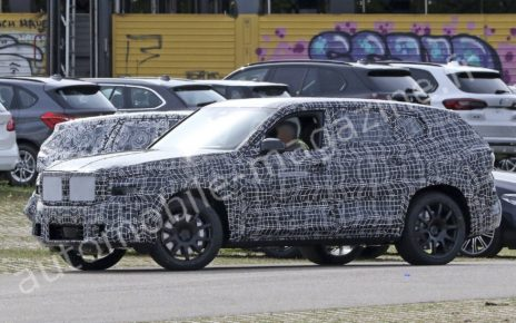 Futur BMW X8 : premières photos en fuite