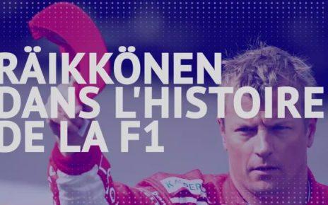 GP de l'Eifel: Kimi Räikkönen dans l'histoire de la Formule1 - F1 - GP de l'Eifel