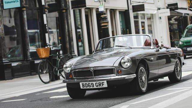 RBW classic roadster : la MG électrique