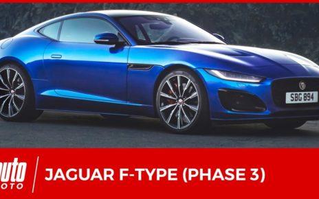 Nouvelle Jaguar F-Type restylée : les changements en détail