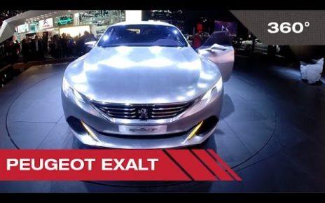 360° Peugeot Exalt - Mondial Auto de Paris 2014