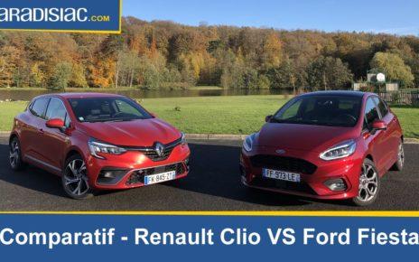 Comparatif - Renault Clio 5 vs Ford Fiesta 6 : les généralistes