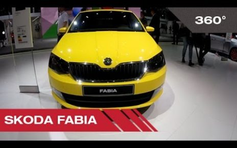 360° Skoda Fabia - Mondial Auto de Paris 2014