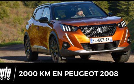 Essai Peugeot 2008 : notre test sur 2 000 km