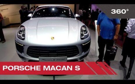 360° Porsche Macan S - Mondial Auto de Paris 2014