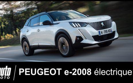 Peugeot e-2008 : premier essai POV du SUV 100% électrique