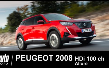 Essai Peugeot 2008 Blue HDi 100 ch Allure : notre avis au volant du diesel