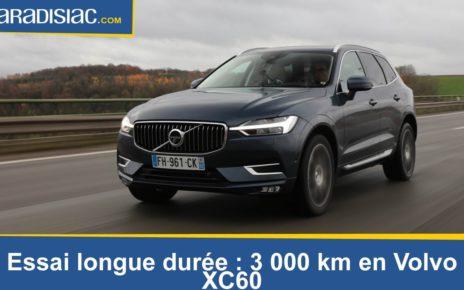 Essai longue durée: 3000 km en Volvo XC60