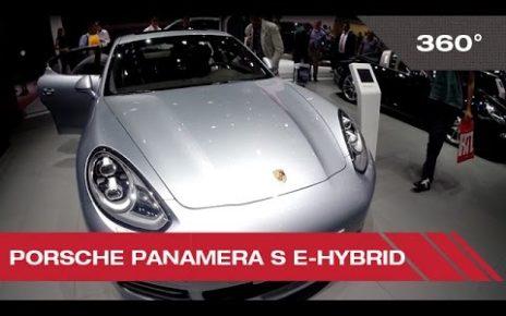 360° Porsche Panamera S e-hybrid - Mondial Auto de Paris 2014